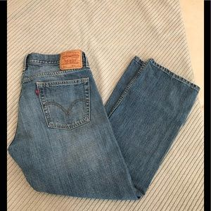 Levi's 514 Slim Straight Jeans 36x30.